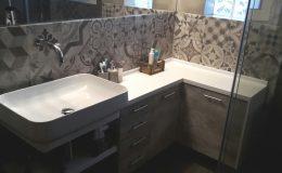 Έπιπλο μπάνιου με νιπτήρα και ντουλάπια αποθήκευσης