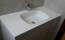 Νιπτήρας μπάνιου με ντουλάπια αποθήκευσης